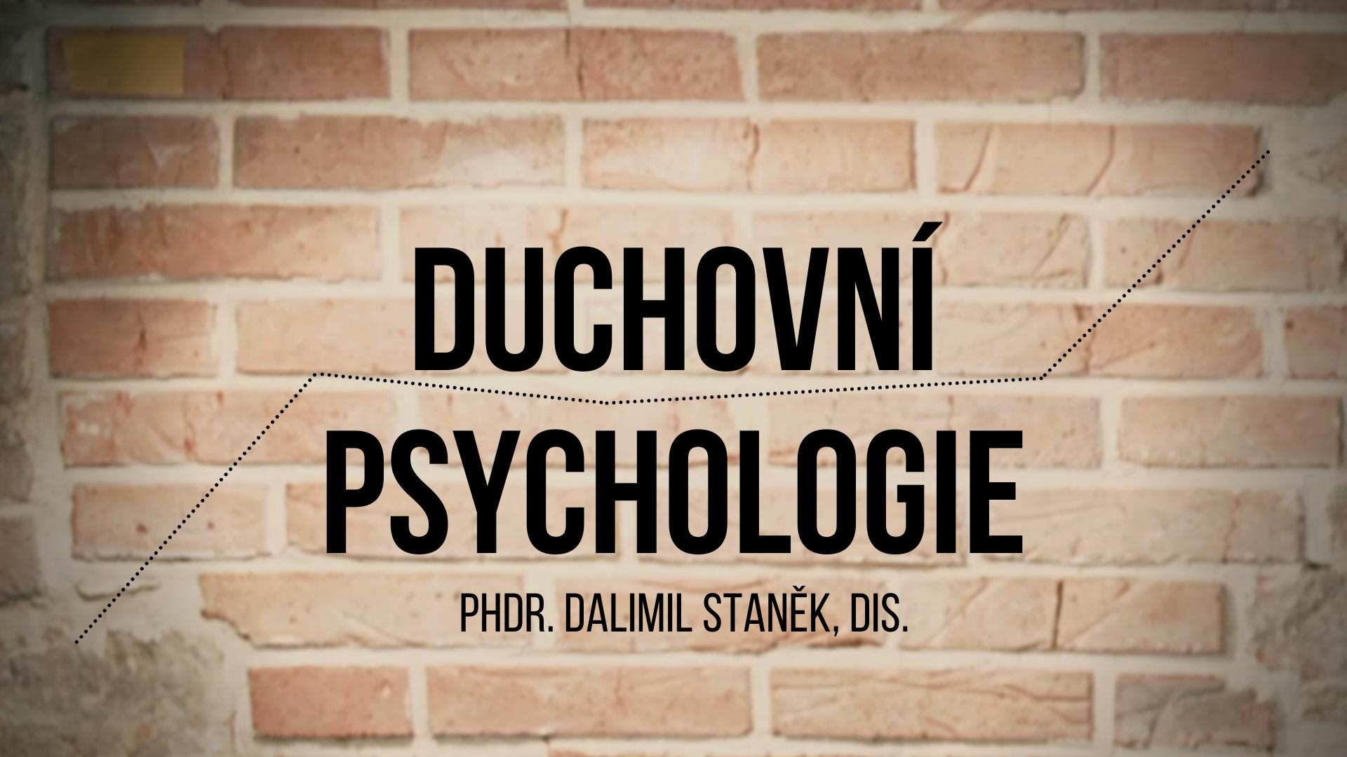 Duchovní Psychologie